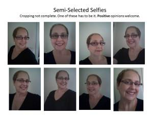 selfies semi selected