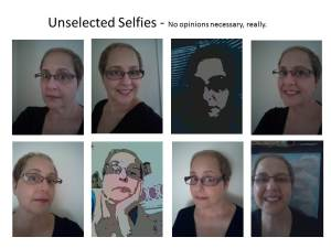 selfies unselected