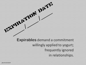 Expirables demand a commitment jakorte 10 21 2014