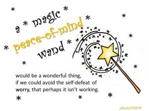 magic peace of mind wand