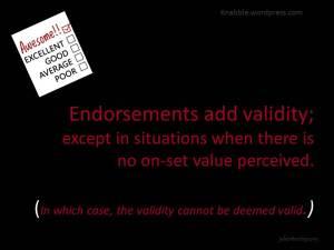 2015 06 09 Endorsements add validity jakorte