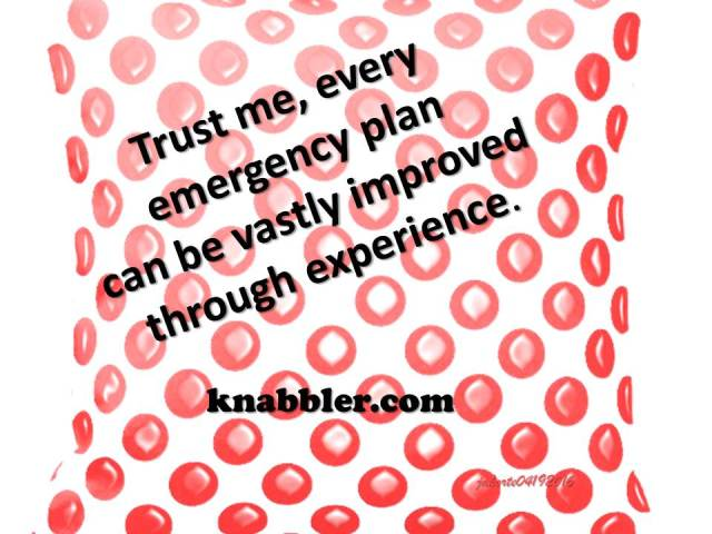 2016 04 19 Every emergency plan can be improved through experience jakorte