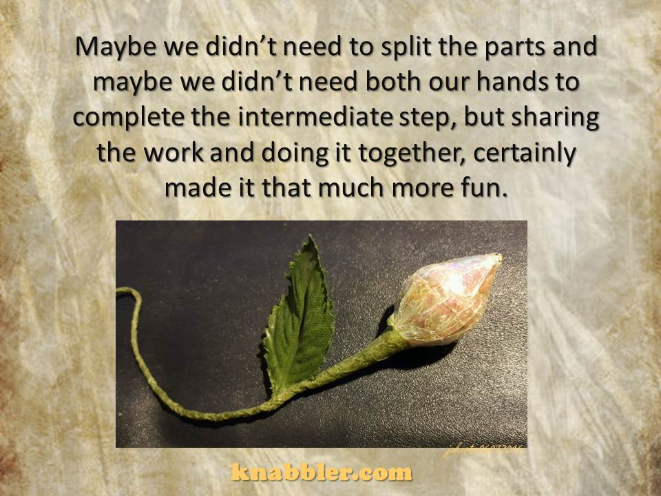 2016 06 07 Maybe we didn't need to split the parts jakorte