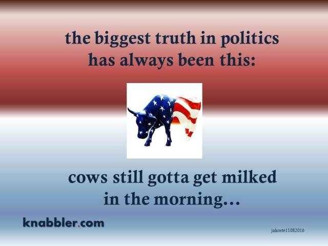 2016-11-06-the-biggest-truth-in-politics-cows-gotta-get-milked-jakorte