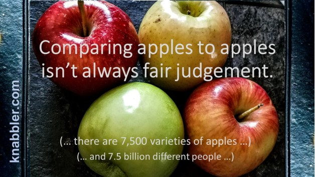 2017 08 01 Comparing apples to apples isn_t always fair judgement jakorte 07 31 2017