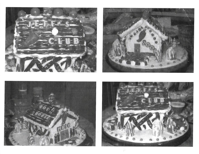Jeff Hot House Gingerbread House