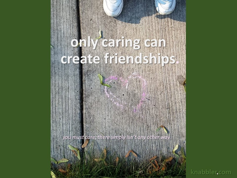 2019 06 25 only caring can create jakorte