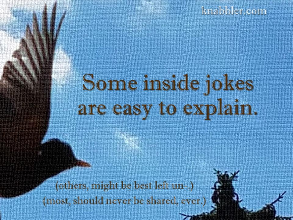 2019 07 02 Some inside jokes are easy to explain jakorte