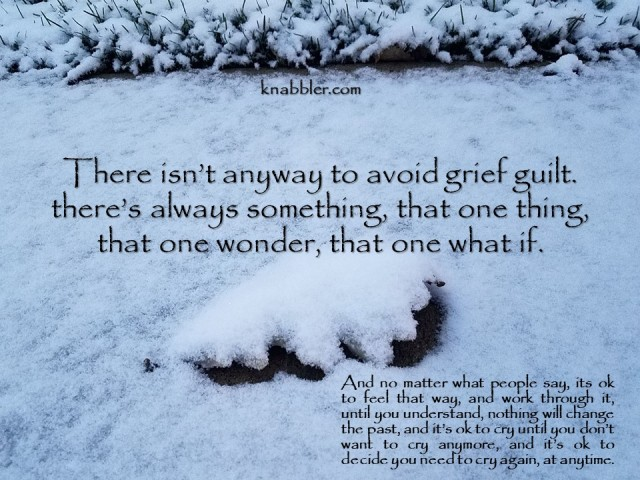 2019 12 17 there isn't anyway to avoid grief guilt jakorte